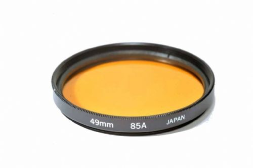49mm Kood Glass 85A Filter Made in Japan